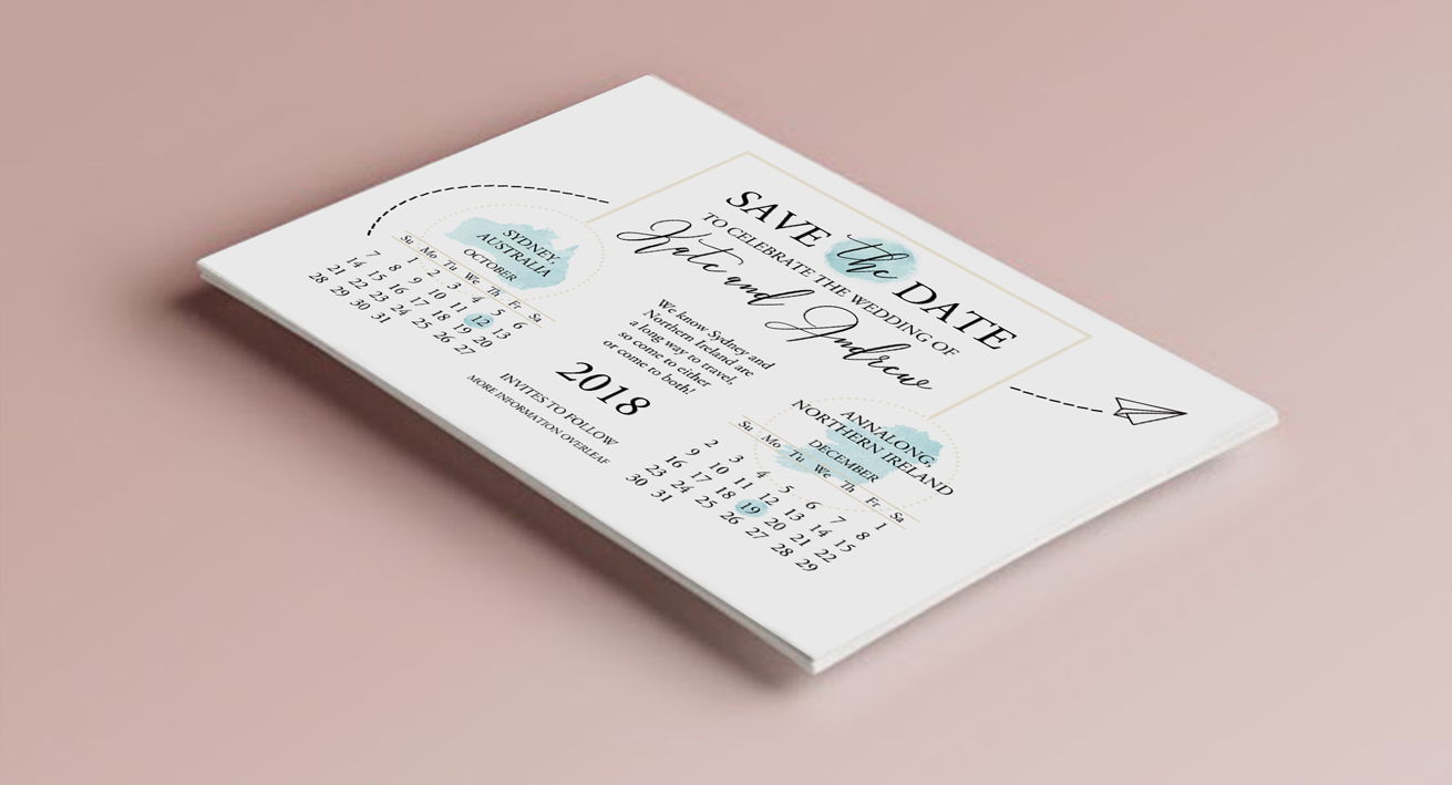 wedding stationery, belfast, northern Ireland, custom wedding stationery, quirky weddings, NI